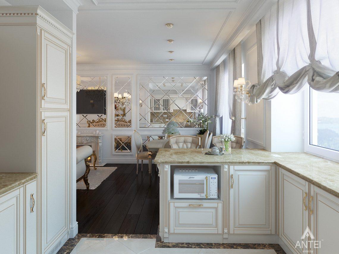 Дизайн интерьера квартиры в Минске, пр. Победителей - гостиная фото №5