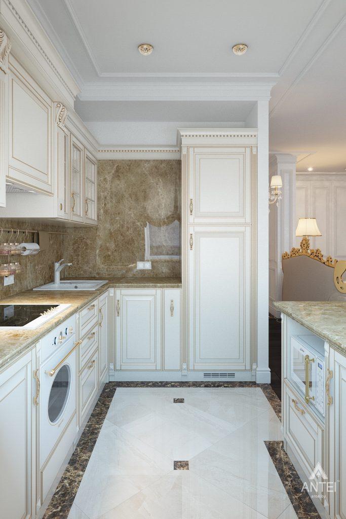 Дизайн интерьера квартиры в Минске, пр. Победителей - кухня фото №2