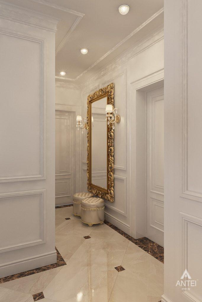 Дизайн интерьера квартиры в Минске, пр. Победителей - прихожая фото №3