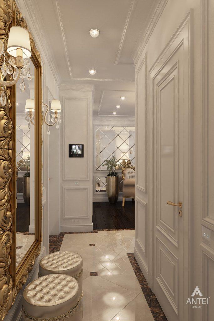 Дизайн интерьера квартиры в Минске, пр. Победителей - прихожая фото №2