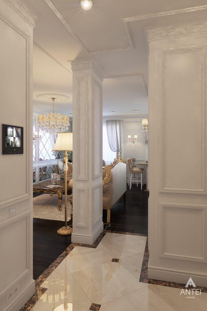 Дизайн интерьера квартиры в Минске, пр. Победителей - прихожая фото №1