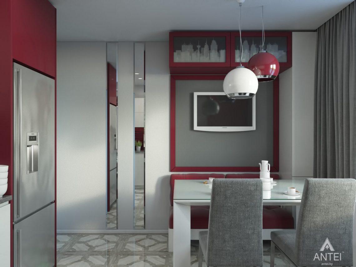 Дизайн интерьера квартиры в Гомеле, ул. Мазурова - кухня фото №2