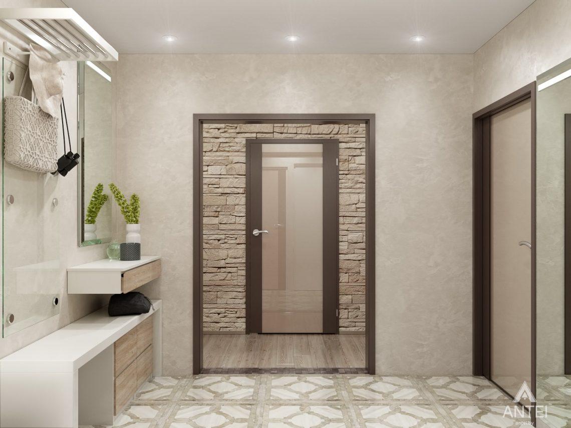 Дизайн интерьера квартиры в Гомеле, ул. Мазурова - прихожая фото №1