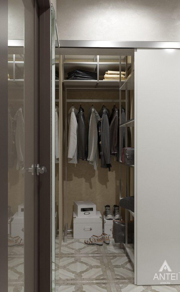 Дизайн интерьера квартиры в Гомеле, ул. Мазурова - прихожая фото №2