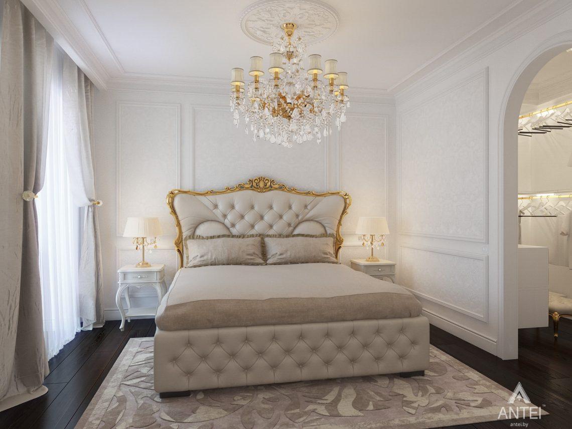 Дизайн интерьера квартиры в Минске, пр. Победителей - спальня фото №3