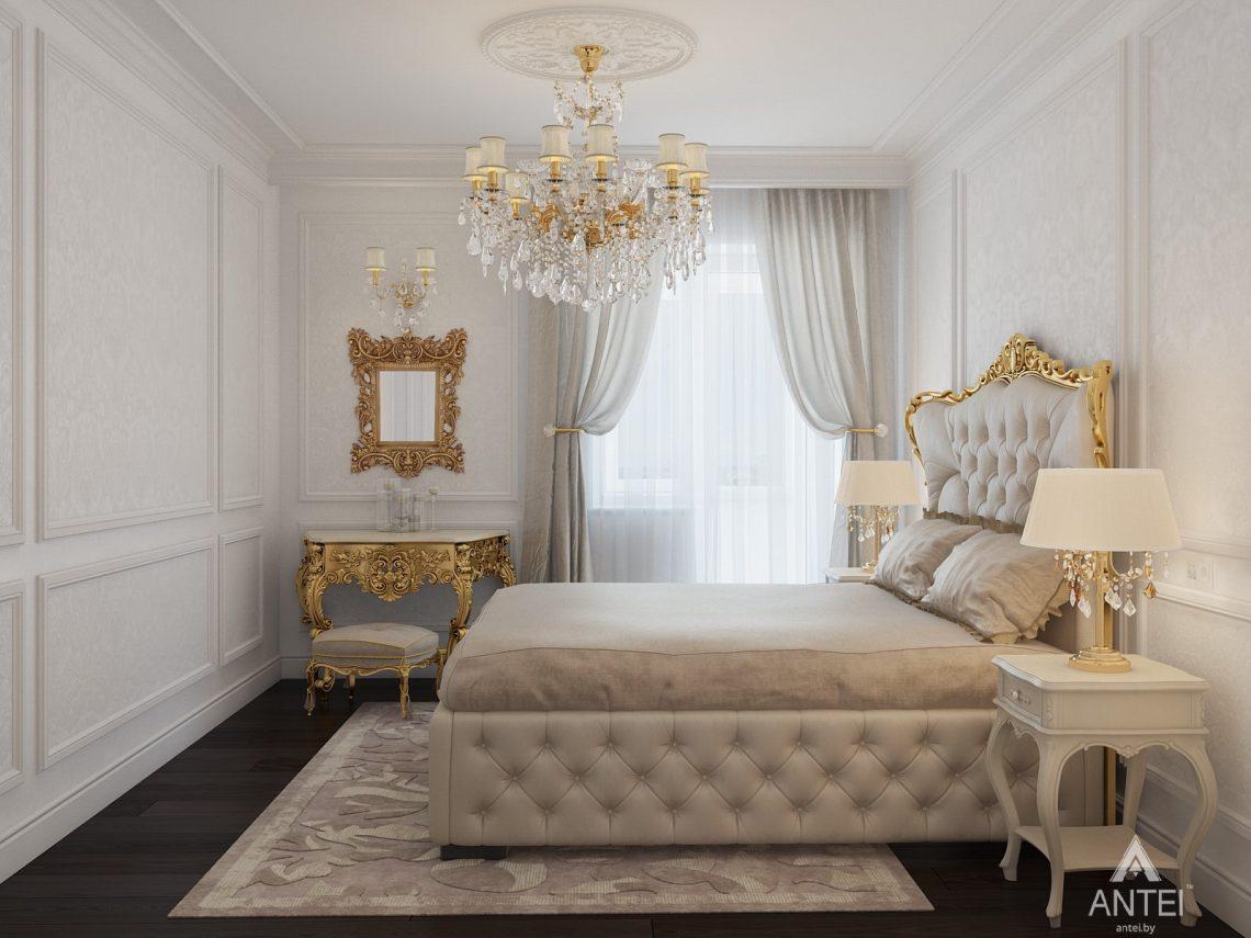 Дизайн интерьера квартиры в Минске, пр. Победителей - спальня фото №2