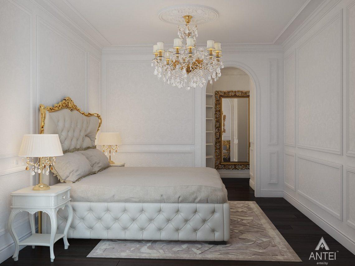 Дизайн интерьера квартиры в Минске, пр. Победителей - спальня фото №4