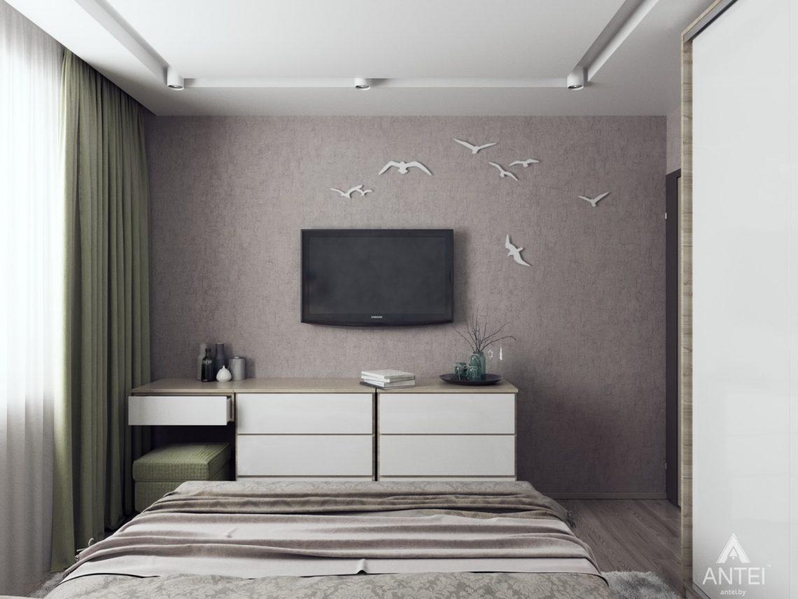 Дизайн интерьера квартиры в Гомеле, ул. Мазурова - спальня фото №1