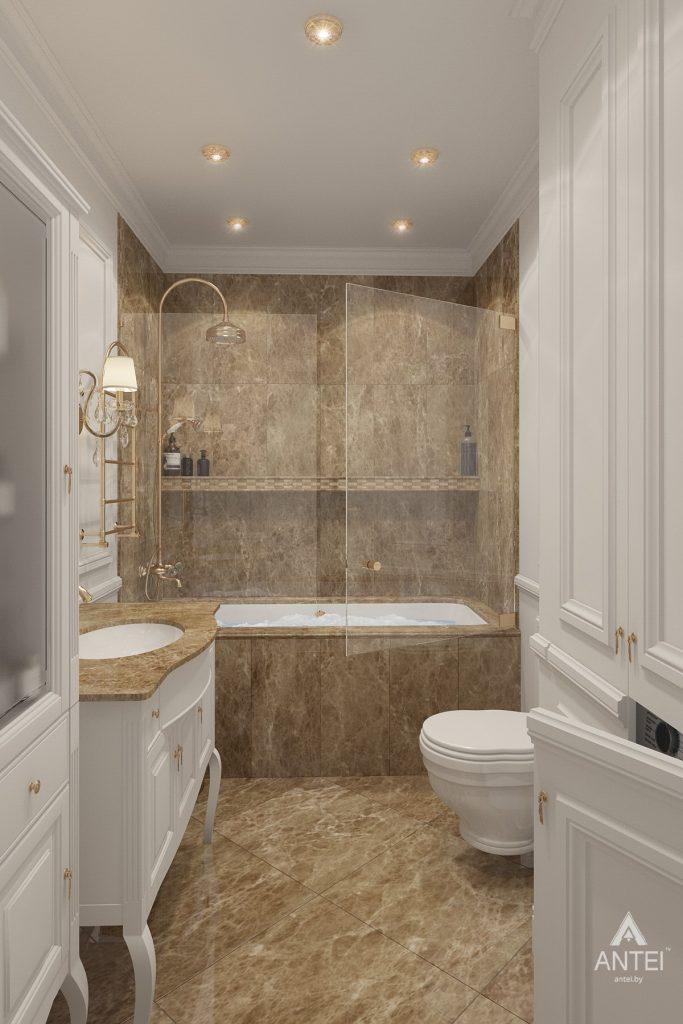 Дизайн интерьера квартиры в Минске, пр. Победителей - ванная фото №1