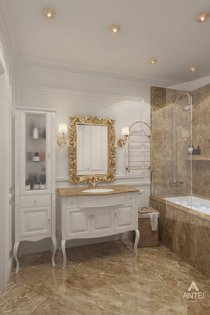 Дизайн интерьера квартиры в Минске, пр. Победителей - ванная фото №3