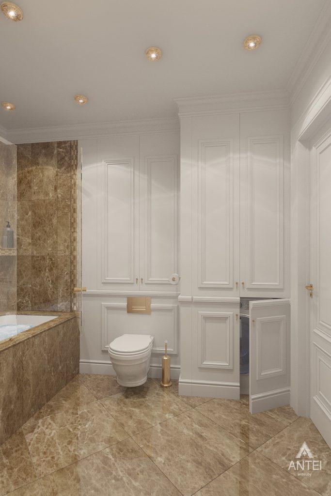 Дизайн интерьера квартиры в Минске, пр. Победителей - ванная фото №4