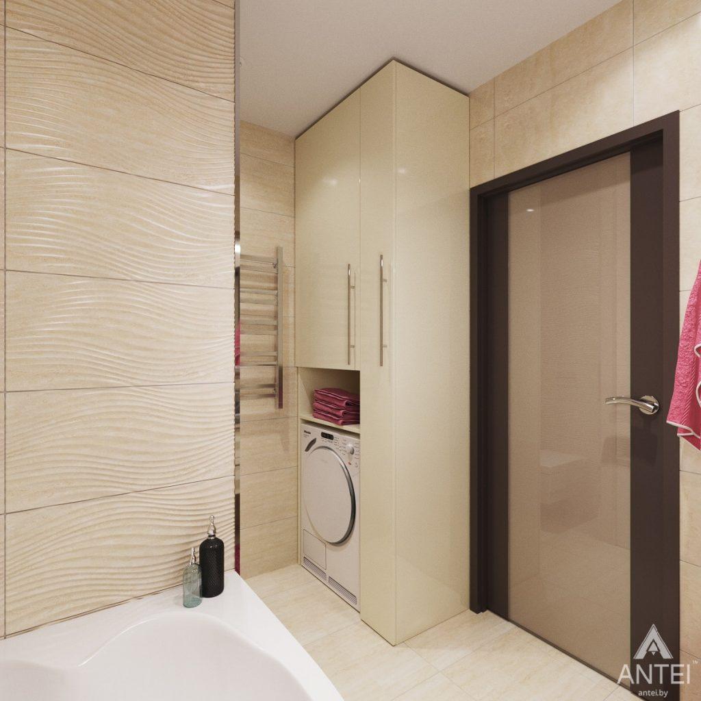 Дизайн интерьера квартиры в Гомеле, ул. Мазурова - ванная фото №3
