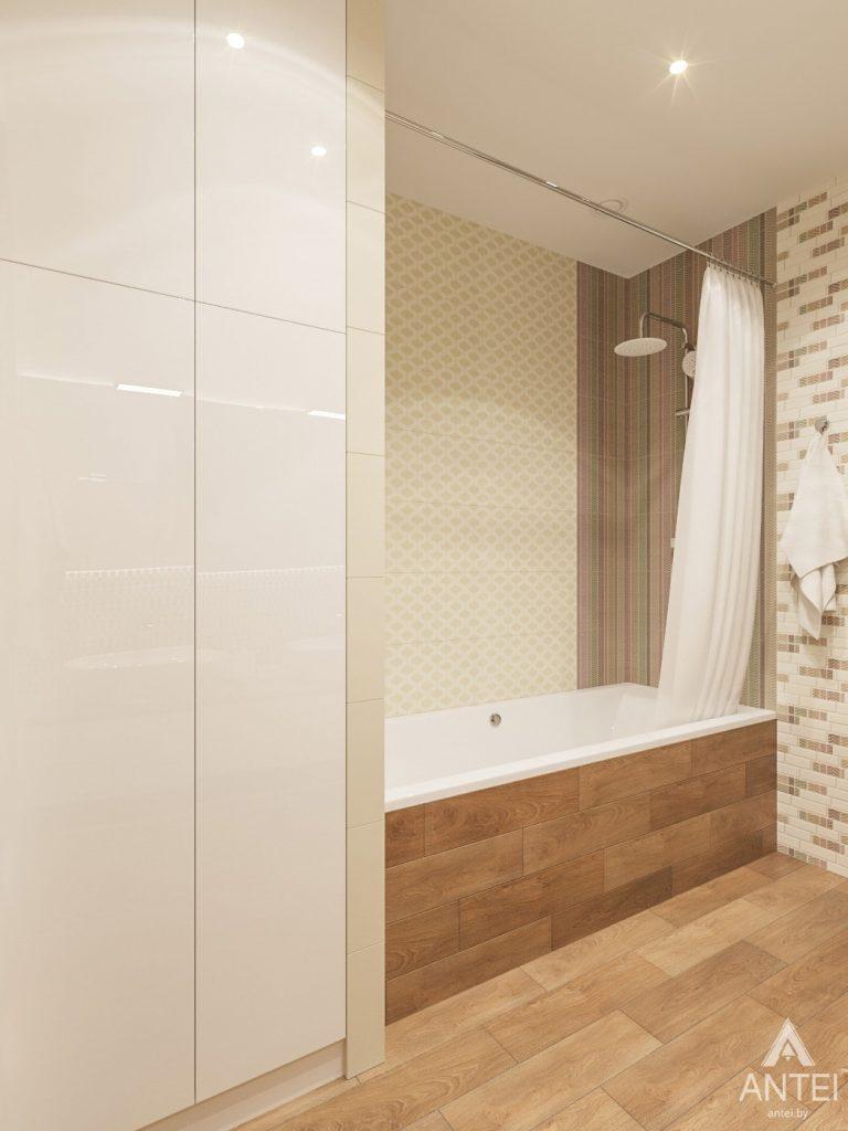 Дизайн интерьера загородного дома в Минском районе - ванная фото №2