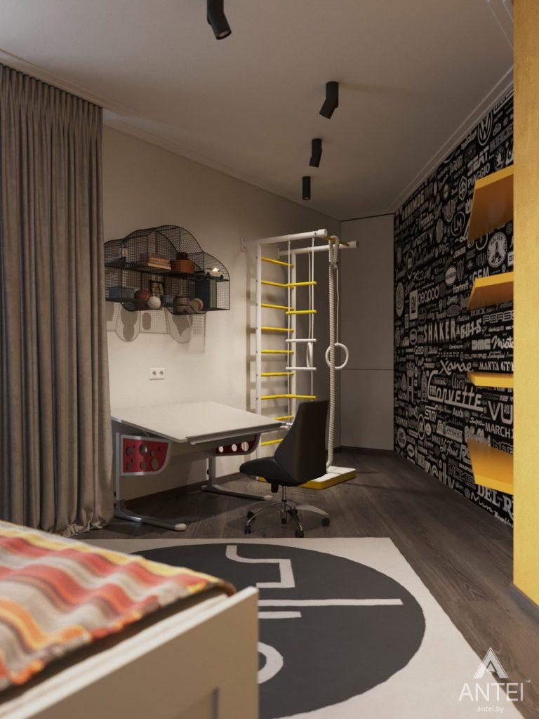 Дизайн интерьера квартиры в Гомеле, ул. Т.С. Бородина - детская комната для мальчика фото №3