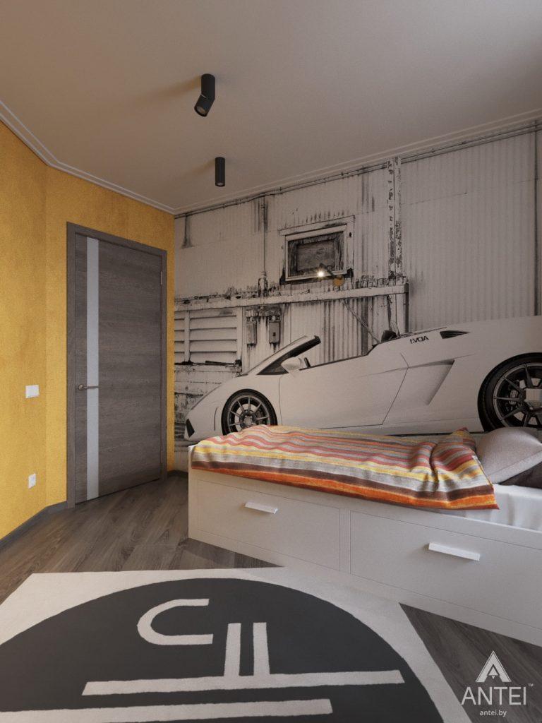 Дизайн интерьера квартиры в Гомеле, ул. Т.С. Бородина - детская комната для мальчика фото №1