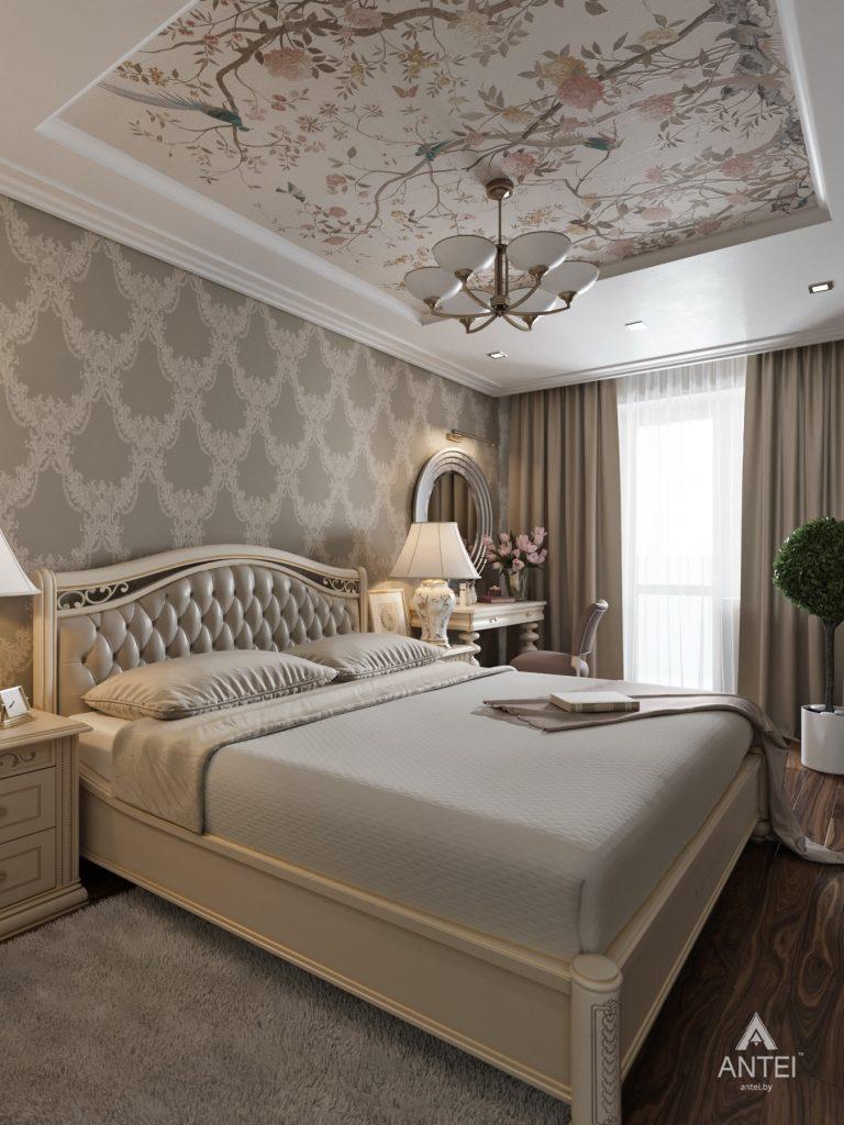 Дизайн интерьера квартиры в Гомеле, ул. Тельмана - спальня фото №1