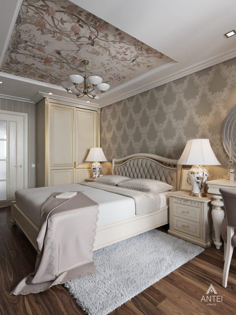 Дизайн интерьера квартиры в Гомеле, ул. Тельмана - спальня фото №2
