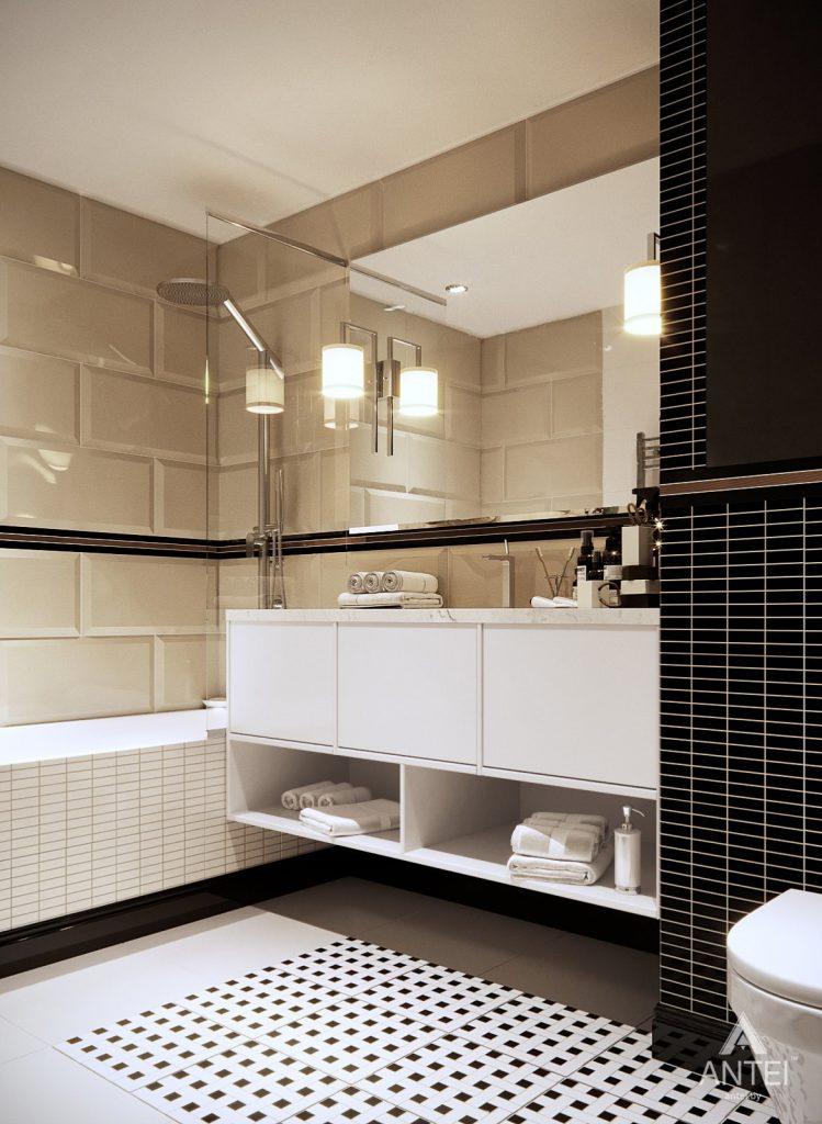 Дизайн интерьера квартиры в Гомеле, ул. Т.С. Бородина - ванная фото №2