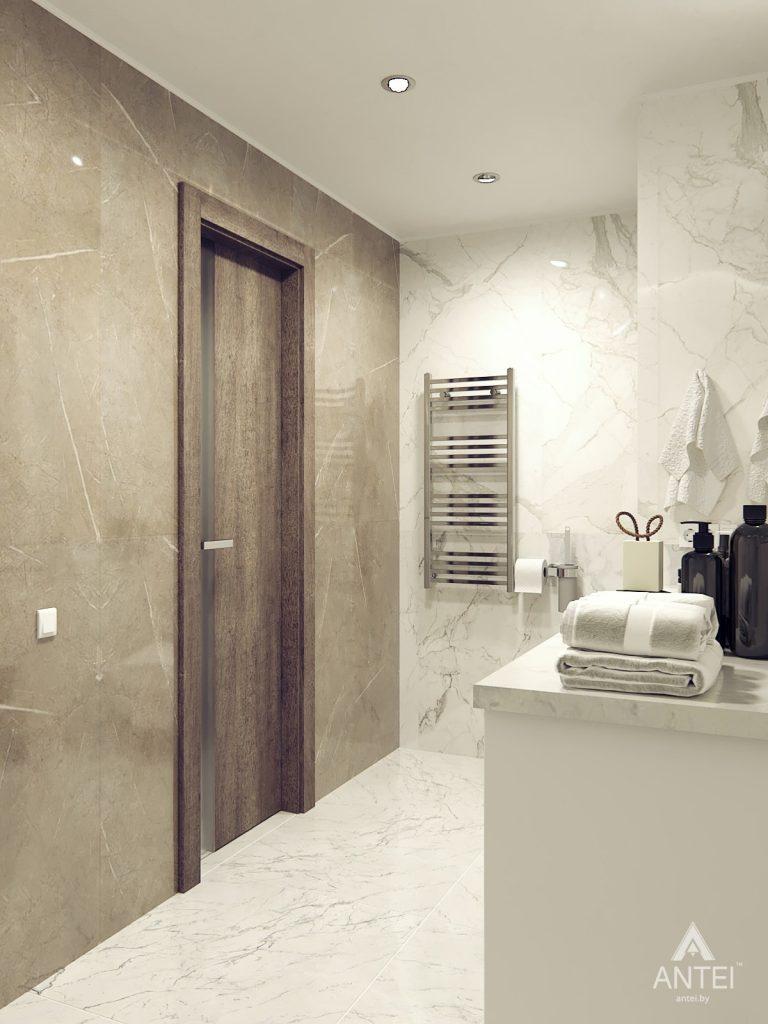 Дизайн интерьера квартиры в Гомеле, ул. Т.С. Бородина - ванная фото №4