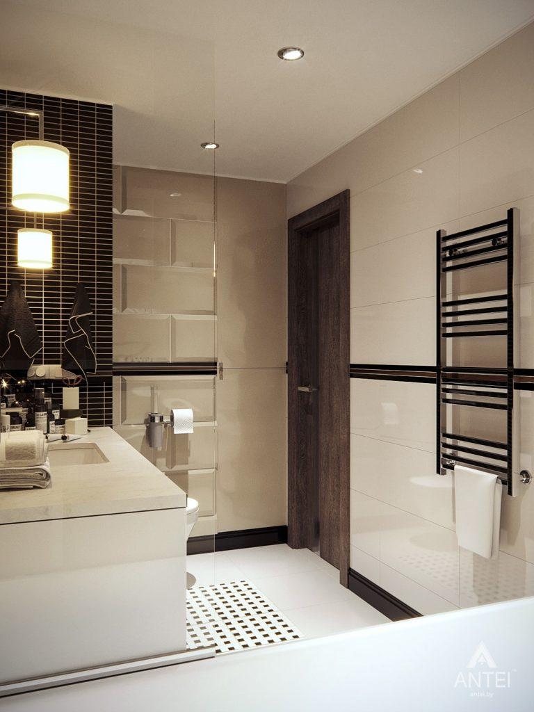 Дизайн интерьера квартиры в Гомеле, ул. Т.С. Бородина - ванная фото №5