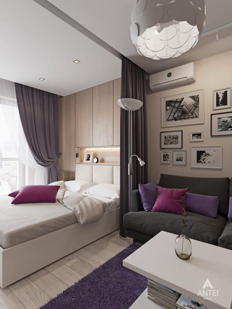 Дизайн интерьера квартиры в Гомеле, ул. Григория Денисенко - гостиная фото №1