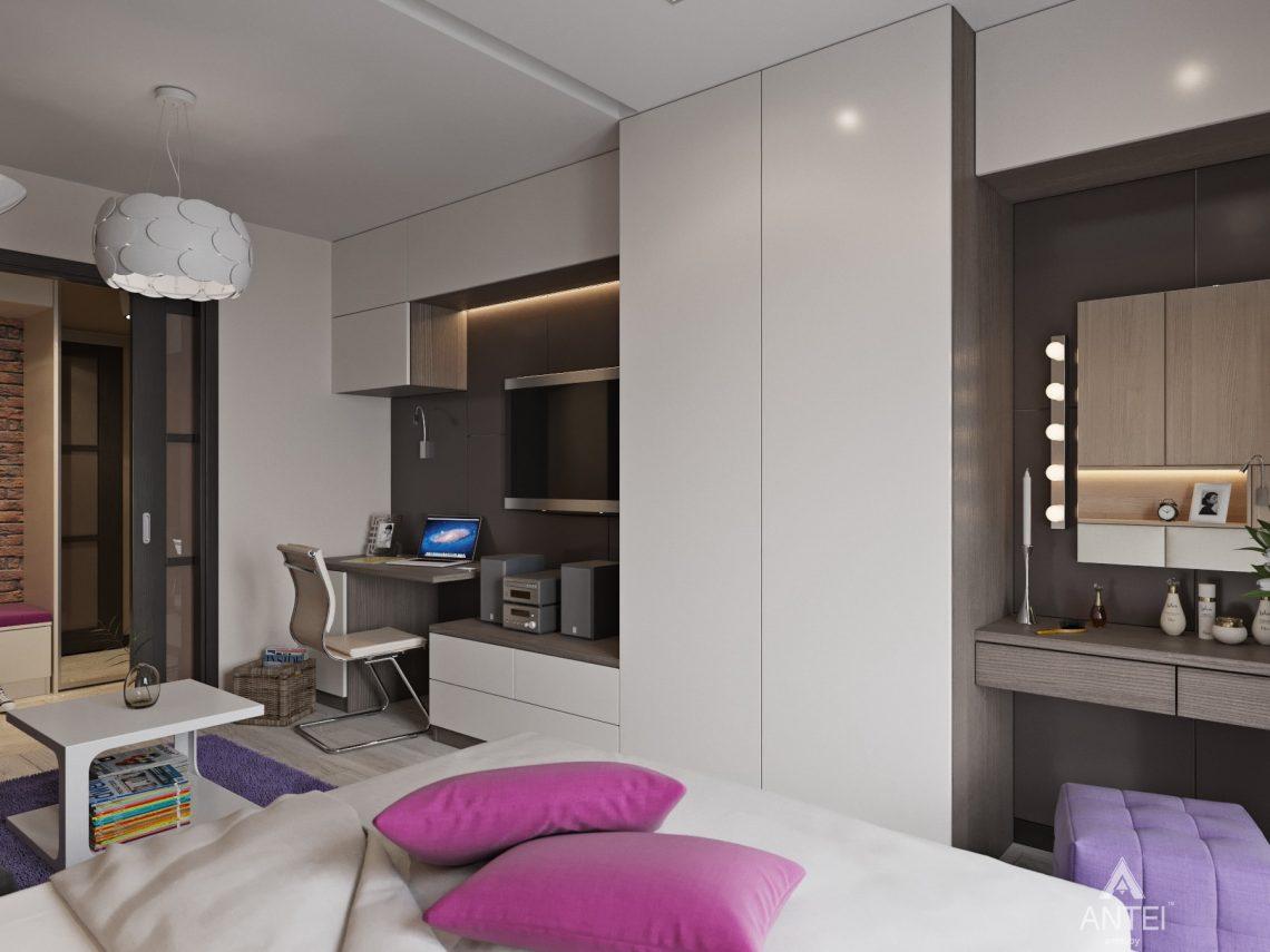 Дизайн интерьера квартиры в Гомеле, ул. Григория Денисенко - гостиная фото №3