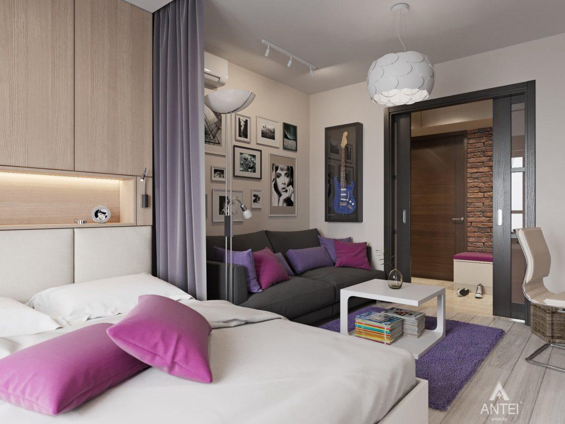 Дизайн интерьера квартиры в Гомеле, ул. Григория Денисенко - гостиная фото №4