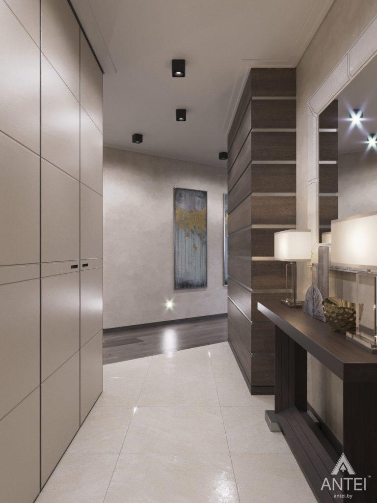 Дизайн интерьера квартиры в Гомеле, ул. Т.С. Бородина - прихожая фото №1
