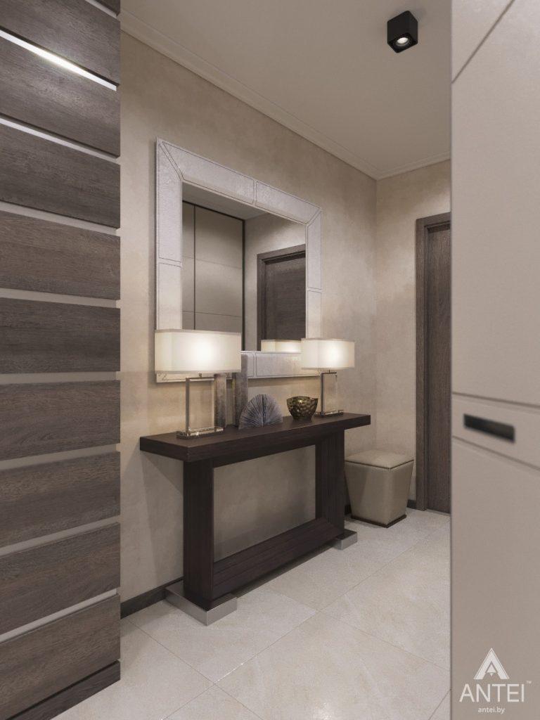 Дизайн интерьера квартиры в Гомеле, ул. Т.С. Бородина - прихожая фото №2