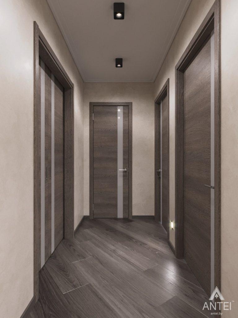 Дизайн интерьера квартиры в Гомеле, ул. Т.С. Бородина - прихожая фото №3