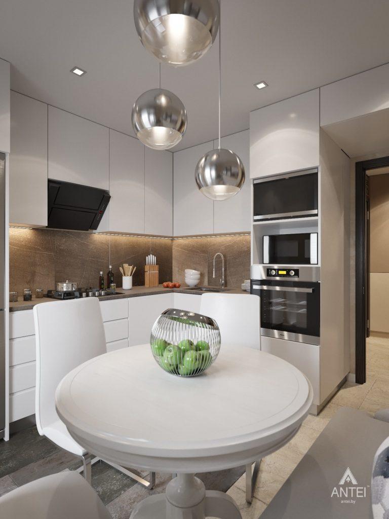Дизайн интерьера квартиры в Гомеле, ул. Григория Денисенко - кухня фото №2