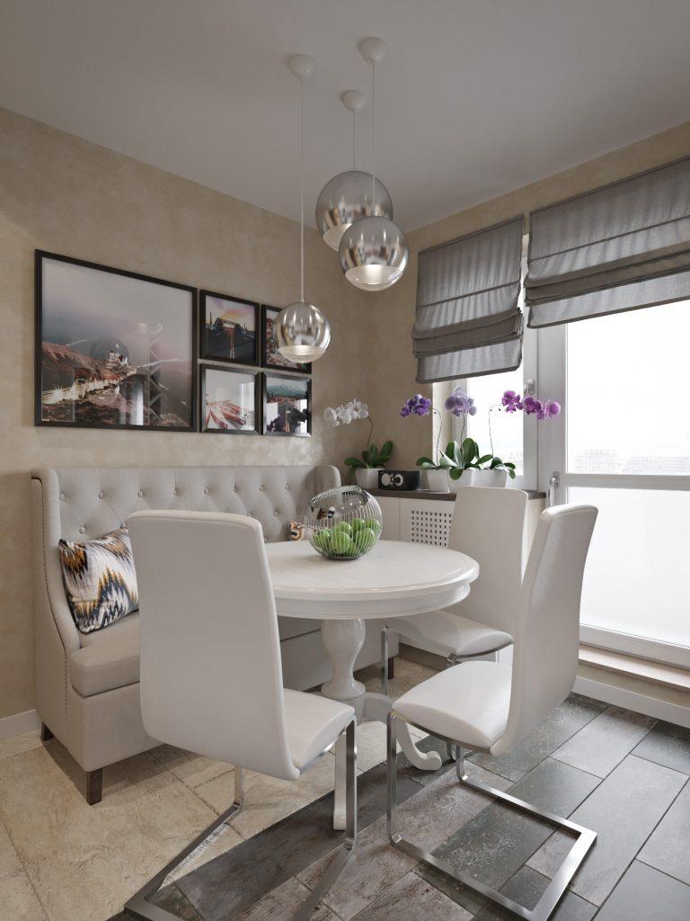 Дизайн интерьера квартиры в Гомеле, ул. Григория Денисенко - кухня фото №3