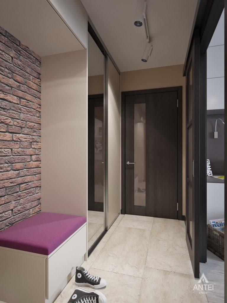 Дизайн интерьера квартиры в Гомеле, ул. Григория Денисенко - прихожая фото №2