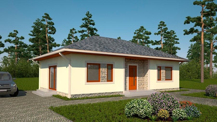 Проект одноэтажного дома «КО-131» - фото №2