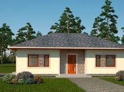 Проект одноэтажного дома «КО-131»