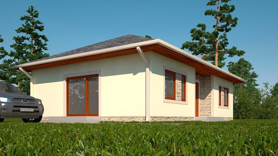 Проект одноэтажного дома «КО-131» - фото №3