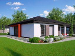 Проект одноэтажного дома «КО-136»