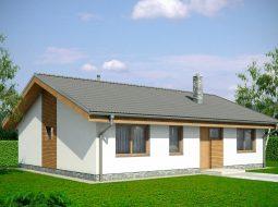 Проект одноэтажного дома «КО-140»