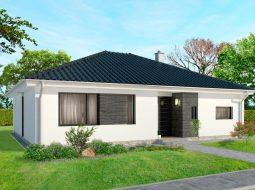 Проект одноэтажного дома «КО-148»