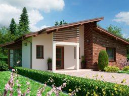 Проект современного одноэтажного дома «КО-149»