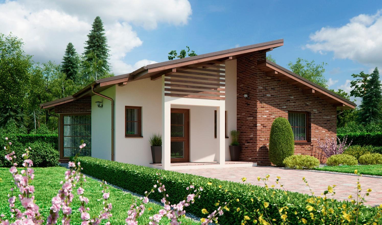 Проект одноэтажного дома «КО-149» - фото №1
