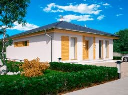 Проект одноэтажного дома «КО-151»
