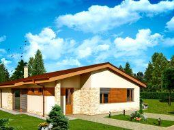 Проект одноэтажного дома «КО-152»