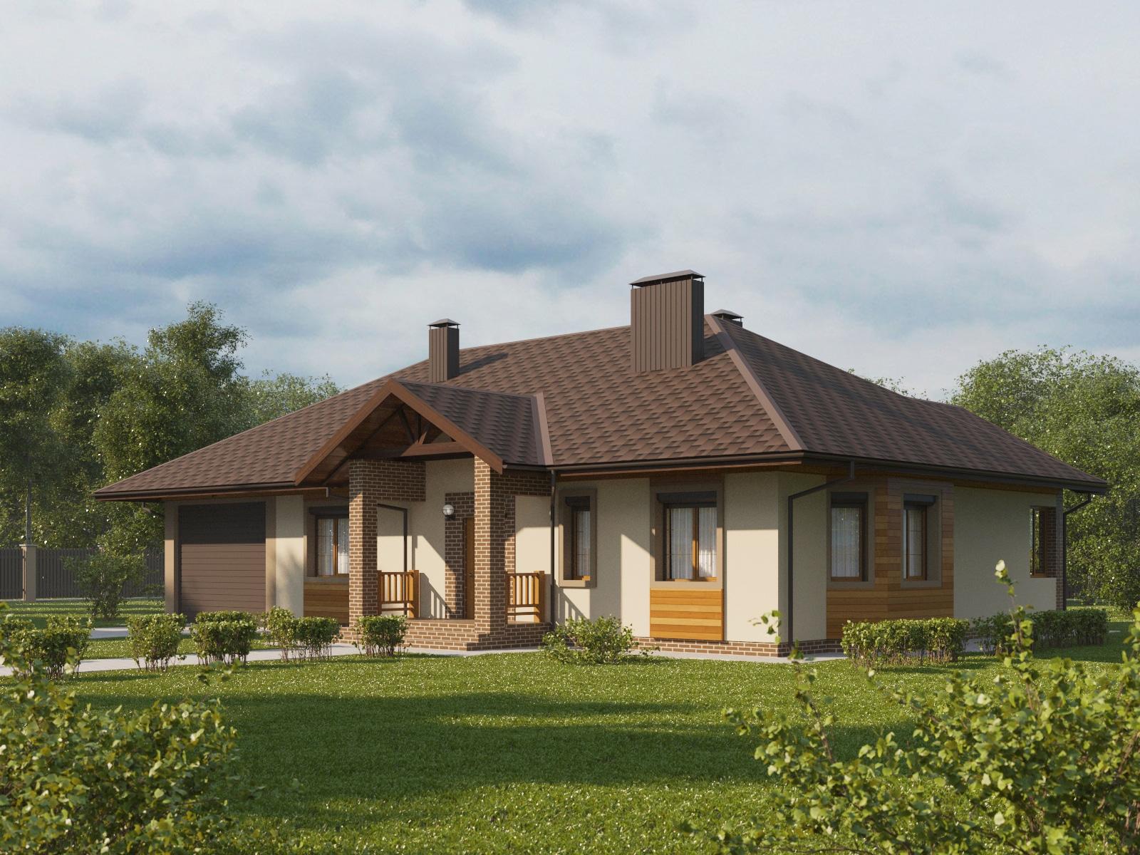 отличный пример обновленные фасады одноэтажных частных домов фото фото сделано германии