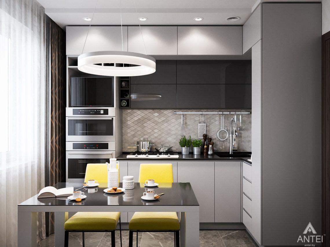Дизайн интерьера квартиры в Гомеле, Речицкий пр-т - кухня фото №1