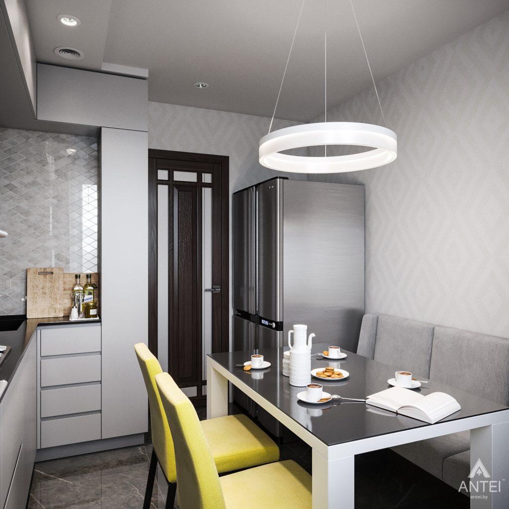 Дизайн интерьера квартиры в Гомеле, Речицкий пр-т - кухня фото №2
