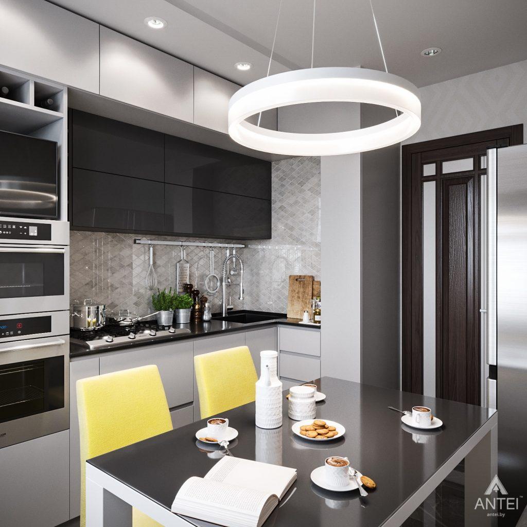 Дизайн интерьера квартиры в Гомеле, Речицкий пр-т - кухня фото №3
