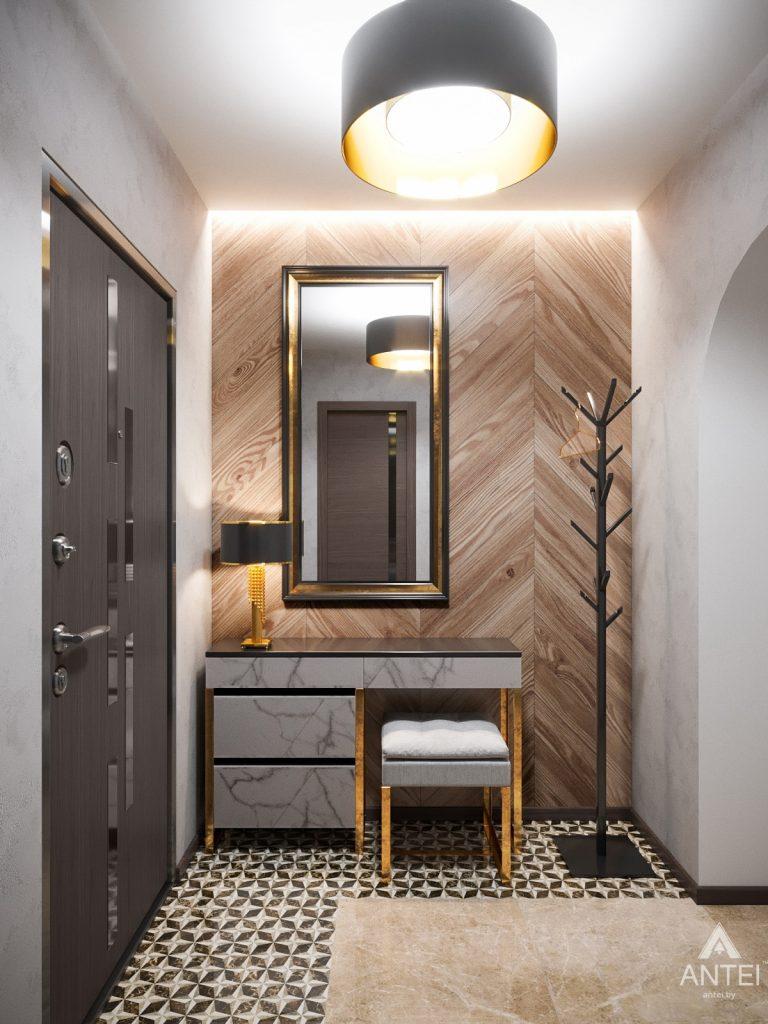 Дизайн интерьера квартиры в Гомеле, Речицкий пр-т - прихожая фото №1