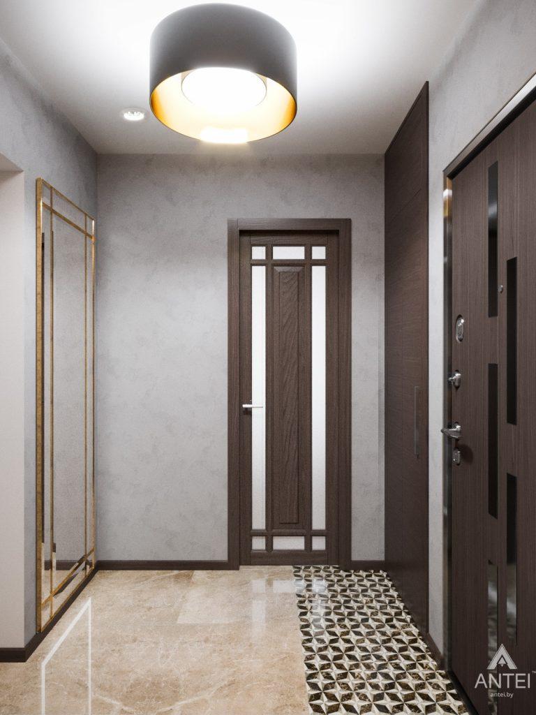 Дизайн интерьера квартиры в Гомеле, Речицкий пр-т - прихожая фото №2