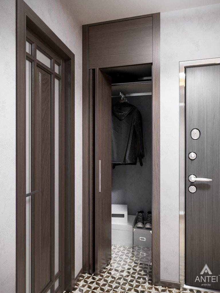 Дизайн интерьера квартиры в Гомеле, Речицкий пр-т - прихожая фото №3